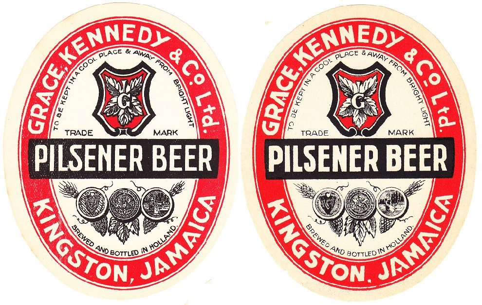 Grace beer label, Phoenix Amersfoort